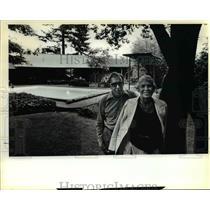 1981 Press Photo Bob Betty Windes B&B Hosts Bed Breakfast Organization