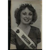 1979 Press Photo Oregon Dairy Princess Mary Ann Blackburn - orb06644