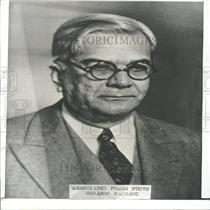 1935 Press Photo Cuban President Gerardo Machado - RRY24977