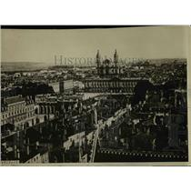 1914 Press Photo City of Nancy which is reported as being occupied by Germans