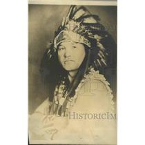 1917 Press Photo Basilf Heath Canadian Mohawk Actor - sbz00889