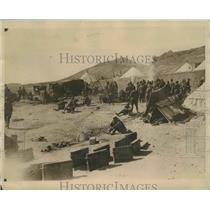 1924 Press Photo Spain's Foreign Legion Doing Work in Campaign Against the Moors