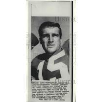 1971 Press Photo Minnesota Vikings' quarterback Gary Cuozzo traded to Cardinals