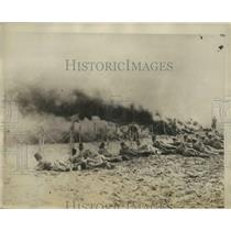 1929 Press Photo Russian Soviet troops in action during the Internal Warfare