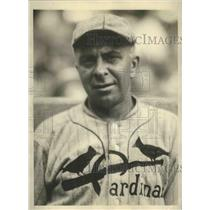 1929 Press Photo Bill Killifer former Cardinals manager with Browns in St Louis