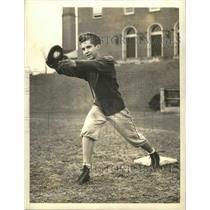 1943 Press Photo Stanley Bucky Harris Jr Woodrow Wilson HS baseball in DC