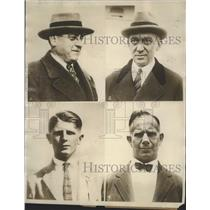 1928 Press Photo Four Men Whom America Depends on to Bring Olympic Champion
