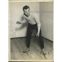 1929 Press Photo Freddie Lindstorm of Loyola Academy Baseball Team - sbs02527