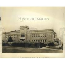 1934 Press Photo Tuskegee Insitute's William J. Wilcox Boys' Trades School