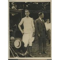 1927 Press Photo J Cheever Cowdin, Veteran of Fifteen year in American Polo