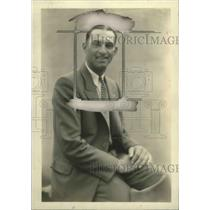 1930 Press Photo William Akers of Detroit Tigers - ney26747