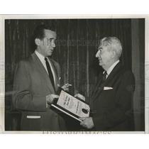 Press Photo Wells Church Receives Press Association Award from Edward R Murrow