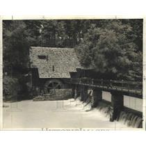 1940 Press Photo Old Mill in Birmingham, Alabama - abnz00794