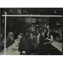 1927 Press Photo Paris, France Cafes - mjx27147