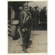 1930 Press Photo Governor CC Young of California Did Air Maneuvers - ney26806