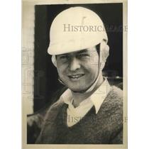 1935 Press Photo Lou Moore, entrant in 1935 Indy 500 Race - sbs02882