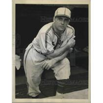1944 Press Photo Luke Sewell, mgr. of the St. Louis Browns, wins American League