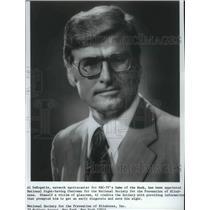 1974 Press Photo Former New York Giants football player, Al DeRogatis - sps02484