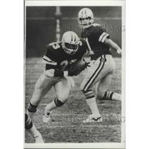 1983 Press Photo Dallas Cowboys football player, Tony Dorsett, in action