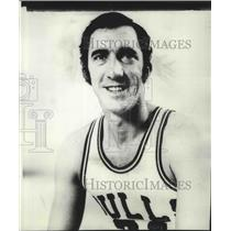 1972 Press Photo Chicago Bulls basketball player, Jim Fox - sps02620