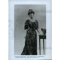1910 Press Photo Jean Conan Doyle, Daughter of Writer Sir Arthur Conan Doyle