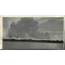 1935 Press Photo Wake Island, 5,000 miles out in the Pacific from California