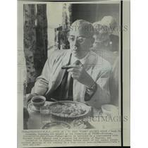 1967 Press Photo Civil Rights-Saul D. Alinsky, in controversy with Kodak