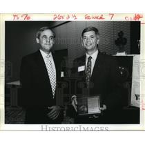 1991 Press Photo Neal Allen and Greg Bono - noa11908