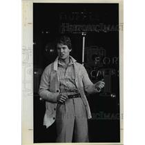 1979 Press Photo One of cardigans at Apparel Mart by JH Koopman - orb67221