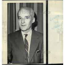 1970 Press Photo Prof. Hannes Alfven, honored for work in magneto hydrodynamics.