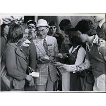 1978 Press Photo E. S. Red Henderson, Silain Square - spa10820