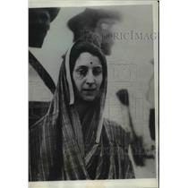 1928 Press Photo Nancy Miller on conversion day to Hinduism - spa11525