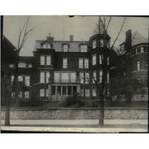1915 Press Photo Exterior View of German Embassy, Washington D.C. - spx17419