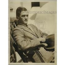 1924 Press Photo W.P. Mellen, Oxford Varsity Crew Team - sbs04644