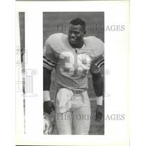 1990 Press Photo Seattle Seahawks football player, Derrick Fenner - sps02876