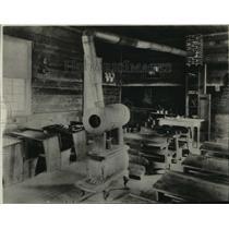 1878 Press Photo First School Room in Spokane, Washington - spx16841