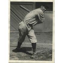 1929 Press Photo screwball artist Hollis Thurston drafted by Brooklyn Dodgers