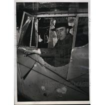 1939 Press Photo New York Patrick Breen made non stop flight to Miami NYC