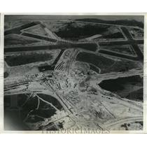 1940 Press Photo Washington National Airport, Aerial View - mja55802