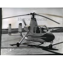 1965 Press Photo Gyroplane Demonstrated at General Mitchell Field - mja59250