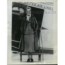 1965 Press Photo Airline Stewardess uniforms used to be sporty (1930)