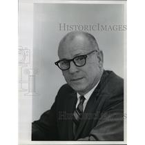 1967 Press Photo David G. Buckman Federal Aviation Administrator Chief