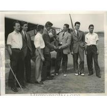 1940 Press Photo Harvard Flying Club Scored 29 Pointed to Win the Air Meet