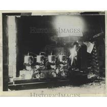 1929 Press Photo Dr Bessica Raiche Made Her 1st Flight in Biplane - nef65021