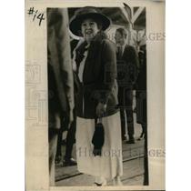 1923 Press Photo Clara Ford, Wife of Henry Ford in Rome, Georgia - neo02544