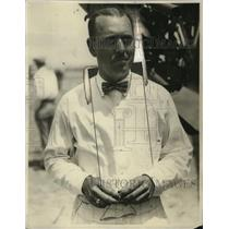 "1927 Press Photo John W. Frost, Pilot ""Golden Eagle"" in Frisco Hawaii Race"