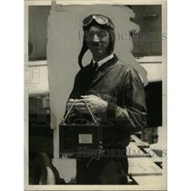 1928 Press Photo U.S. Navy Pilot Arthur Gavin, Set Aerial Altitude REcord