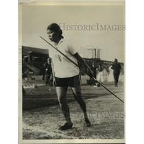 1931 Press Photo Masako Shimpo to be in Javelin-Throwing Events - sbs05088