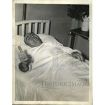 1941 Press Photo Eddie Rickenbacker in Hospital, Atlanta, Georgia - neo05687