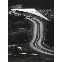 1984 Press Photo Gliders, Gary Sandbo Hangman Valley - spa53102